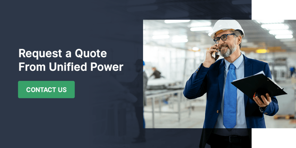 Request a Quote From Unified Power